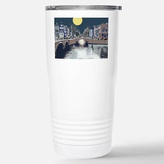 DutchBridge1abcx Stainless Steel Travel Mug