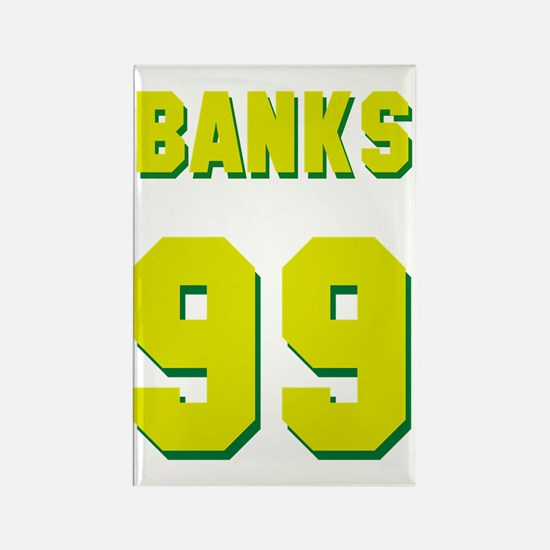 banks99 Rectangle Magnet