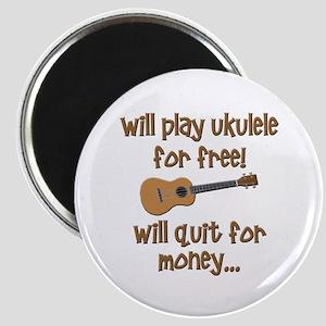 funny ukulele uke designs Magnet