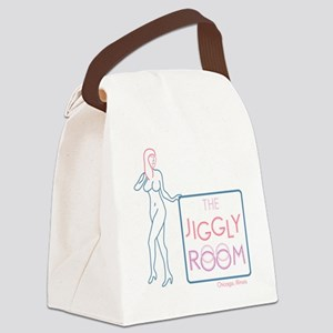 The Jiggly Room Canvas Lunch Bag