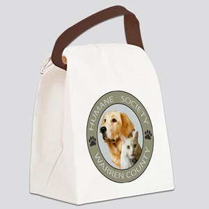 WC HUMANE CIRCLE COLOR copy Canvas Lunch Bag