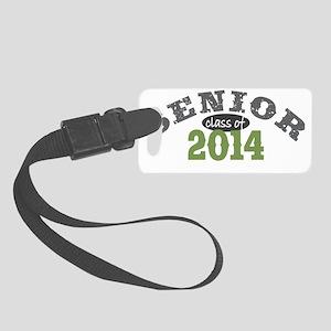 Senior 2014 Green 1 Small Luggage Tag