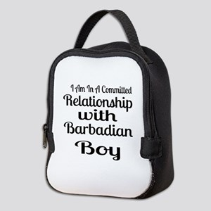 I Am In Relationship With Barba Neoprene Lunch Bag