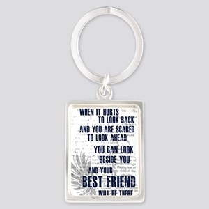 Best-friend-review Portrait Keychain