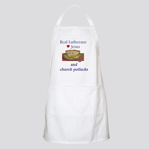 Jesus and Church Potlucks Apron