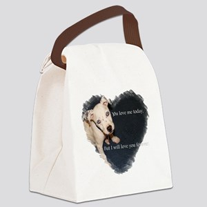 10by10seekerheart Canvas Lunch Bag