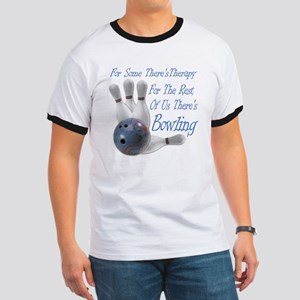 Bowling Therapy Dark Ringer T
