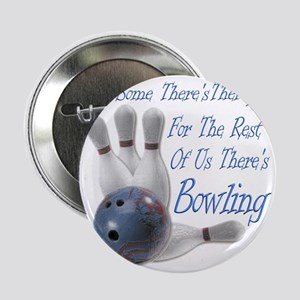 """Bowling Therapy Dark 2.25"""" Button"""