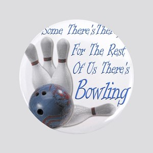 """Bowling Therapy Dark 3.5"""" Button"""