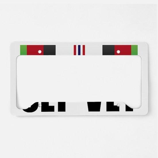 OEF VET License Plate Holder