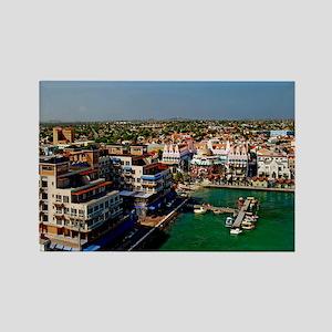 Oranjestad Aruba5.25x5.25 Rectangle Magnet
