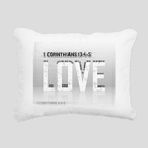 NUMBER 11 Rectangular Canvas Pillow