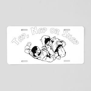 Tap 2 Aluminum License Plate