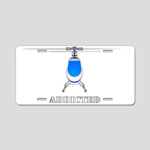 addicted Aluminum License Plate