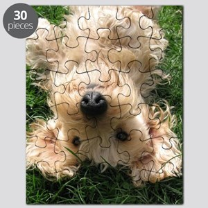 wire hair blond16x16 Puzzle