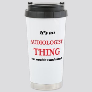 It's and Audiologis Stainless Steel Travel Mug