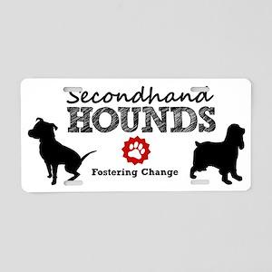 SHH_logo Aluminum License Plate