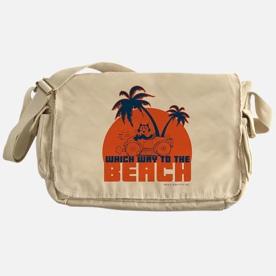 whichwaytothebeach Messenger Bag