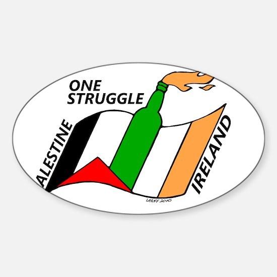 one struggle png Sticker (Oval)