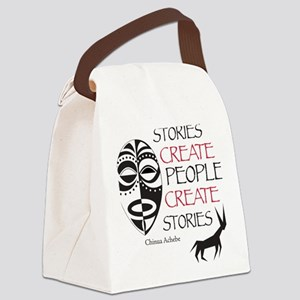 stories Canvas Lunch Bag