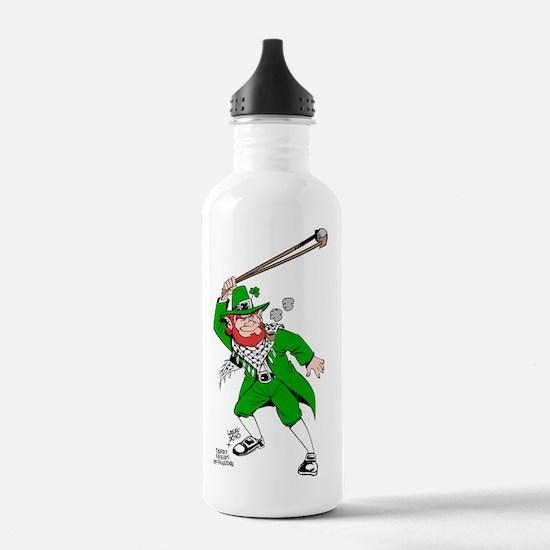 leprechaun png Water Bottle