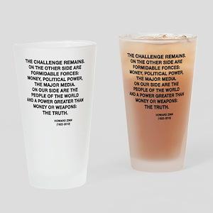 zinn Drinking Glass