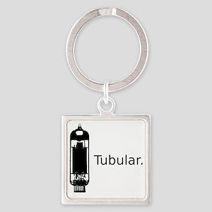 tubular Square Keychain