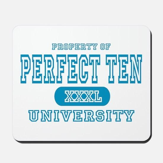Perfect Ten University Mousepad