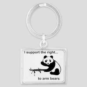 arm bears Landscape Keychain