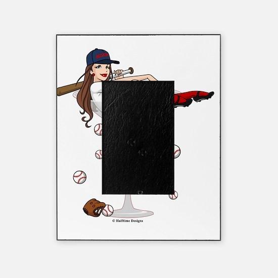 Baseball Boston Girl Picture Frame