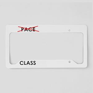 class warfare License Plate Holder