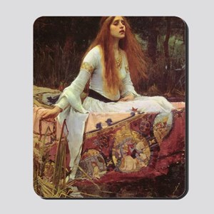 Lady of Shalott Journal Mousepad