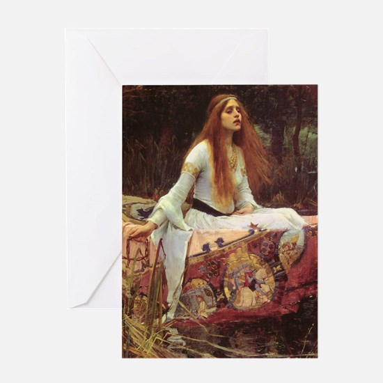 Lady of Shalott Journal Greeting Card