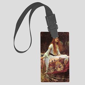 Lady of Shalott Journal Large Luggage Tag