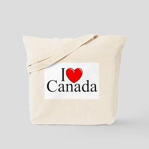 """I Love Canada"" Tote Bag"