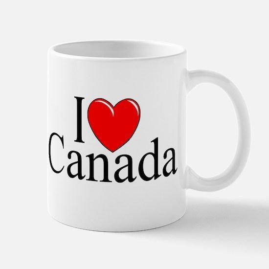 """I Love Canada"" Mug"