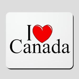 """""""I Love Canada"""" Mousepad"""