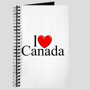 """I Love Canada"" Journal"