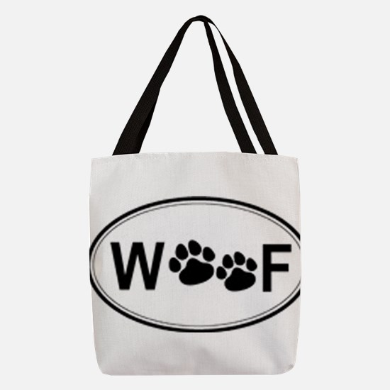 woof Polyester Tote Bag