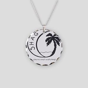 Shag Ocean apparel Necklace Circle Charm
