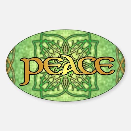 leafrecsquare Sticker (Oval)
