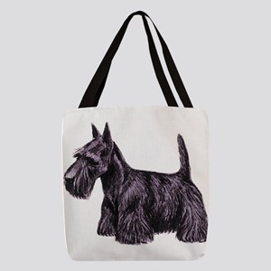 Scottish Terrier Polyester Tote Bag