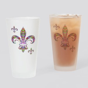 PSYCHEDELIC FLEUR-69c Drinking Glass