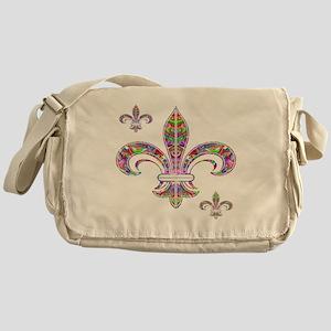 PSYCHEDELIC FLEUR-69c Messenger Bag