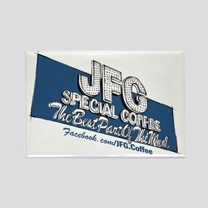 JFG Sign Illustration Rectangle Magnet