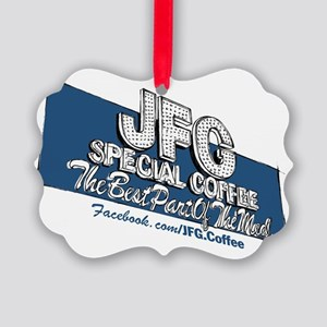 JFG Sign Illustration Picture Ornament