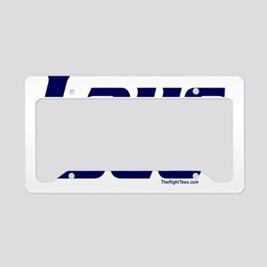 3-LausDeo License Plate Holder