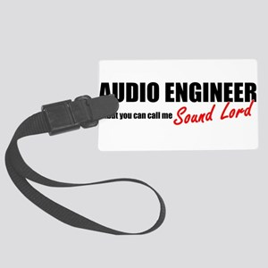 Sound Lord Large Luggage Tag