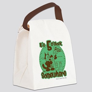 2-5oclock Canvas Lunch Bag