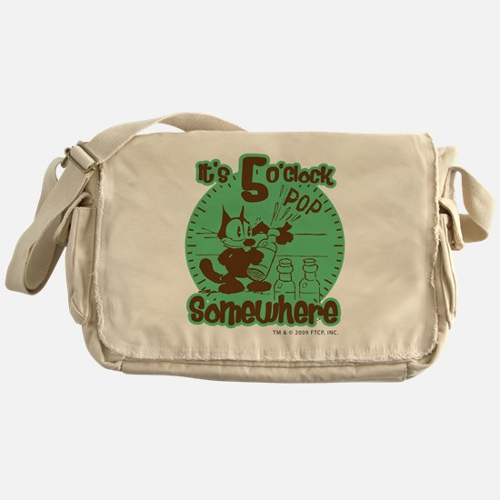 2-5oclock Messenger Bag